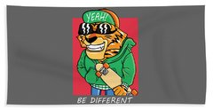 Be Different - Baby Room Nursery Art Poster Print Beach Towel