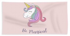 Be Magical - Baby Room Nursery Art Poster Print Beach Towel