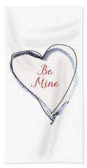 Be Mine Beach Towel