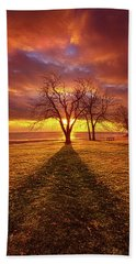Beach Towel featuring the photograph Be Still In The Moment by Phil Koch
