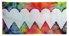 Be Still My Beaded Hearts Beach Sheet