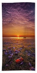 Beach Towel featuring the photograph Be The Light by Phil Koch