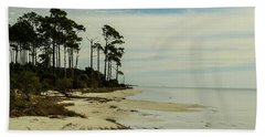 Beach And Trees Beach Towel