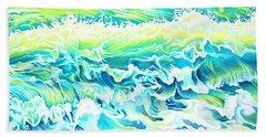 Beach Break Wave Beach Towel