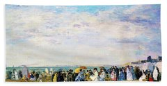 Beach Of Trouville - Digital Remastered Edition Beach Towel