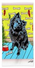 Bear Paw Holiday Beach Sheet