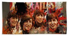 Beatles Beach Towel
