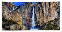Beautiful Upper Falls Beach Towel