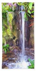 Beautiful Waterfall Beach Sheet