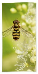 Bee Up Beach Towel