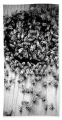 Bees Beach Towel