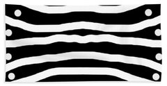 Behind Bars Beach Towel
