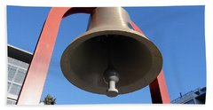 Bell At First Responder Plaza Beach Towel