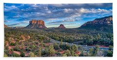 Bell Rock Scenic View Sedona Beach Towel