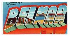 Belmar Greetings Beach Sheet