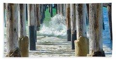 Below The Pier Beach Towel
