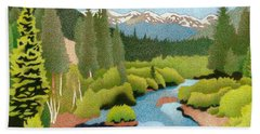 Berthoud Pass Beach Towel