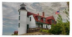 Bestie Point Lighthouse  Beach Towel