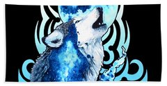 Better To Be A Wolf Of Odin Than A Lamb Of God Wolf Beach Towel