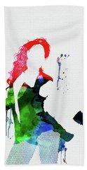 Beyonce Watercolor Beach Towel