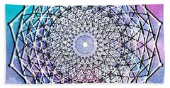 Beach Towel featuring the digital art Big Bang by Bee-Bee Deigner