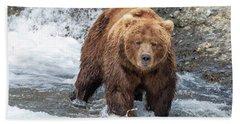 Big Boar Beach Towel
