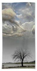 Big Sky One Tree Beach Sheet