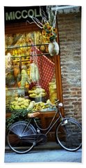 Bike In Sienna Beach Towel