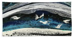 Birds Of Paradise #5 Beach Sheet