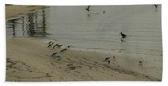 Birds On Beach Beach Sheet