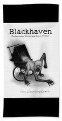 Blackhaven The Encounter Stories And Demon Profiles Bookcover, Shirts, And Other Products Beach Sheet