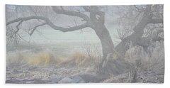 Beach Towel featuring the photograph Blanket Of Fog by Randi Grace Nilsberg
