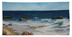 Block Island Surf Beach Towel