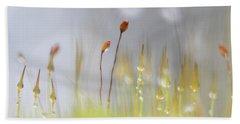 Blooming Moss Beach Sheet