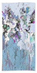 Blue Bloom II Beach Towel