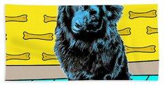 Blue Dog Beach Sheet