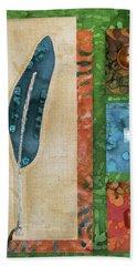Blue Feather Beach Sheet