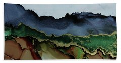 Blue Mountains I Beach Towel