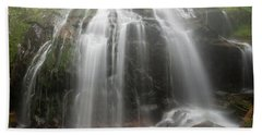 Blue Ridge Mountain Falls Beach Towel