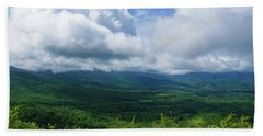 Blue Ridge Mountains Fine Day Beach Towel