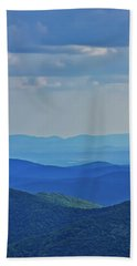 Blue Ridge Mountains Beach Towel