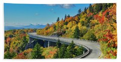 Blue Ridge Parkway Viaduct Beach Towel