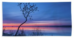 Blue Silence Beach Sheet