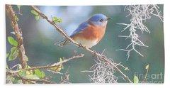 Bluebird In Dixie  Beach Towel