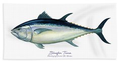 Bluefin Tuna Beach Towel