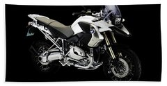 Bmw R1200gs Beach Towel