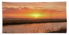 Bombay Hook Sunrise Beach Towel