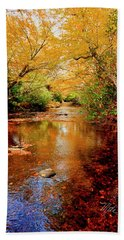 Boone Fork Stream Beach Towel