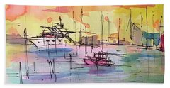 Boothbay 2  Beach Towel
