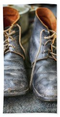 Boots Of Company H Beach Towel